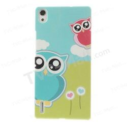 A Couple of Lovely Owls for Huawei Ascend P7 Plastic Hard Case