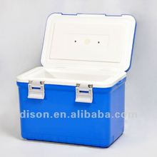 high quality plastic cooler/cooler bag, 10L. HDPE, 20 hours cooling