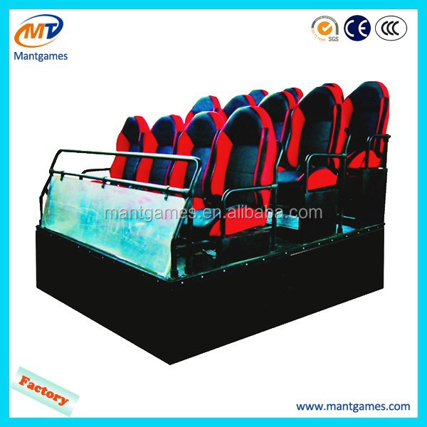 Truck mobile 9d movies cinema for entertainment