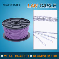 Vention Twisted Pair Double Shielded CAT7 Network Cable For Computer
