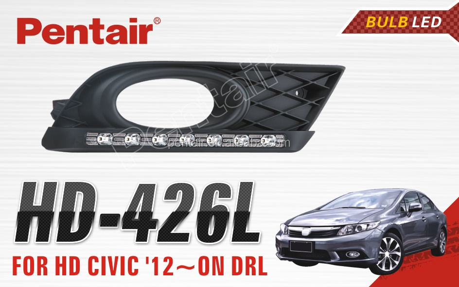 LED HIGH POWER FOG LIGHT FOR HD CIVIC 12~ON DRL