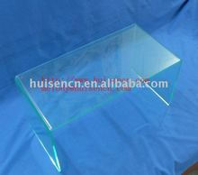 Transparent Acrylic lap top display stand