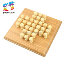 Wholesale wonderful chess game wooden adults chess toy for entertainment W11A069