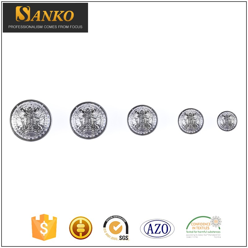 11 15 21 25mm customized zinc alloy engraved snap button