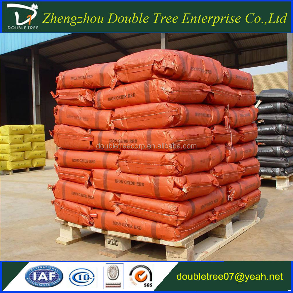 Buy quality iron oxide red Fe2O3 powder 130 for cement