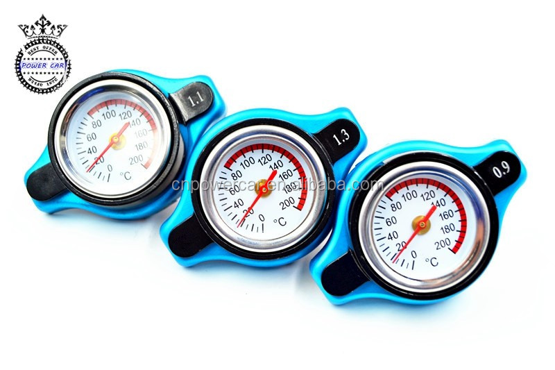 High Quality Radiator Cap With Water Temp Gauge For Motorcycle And Car