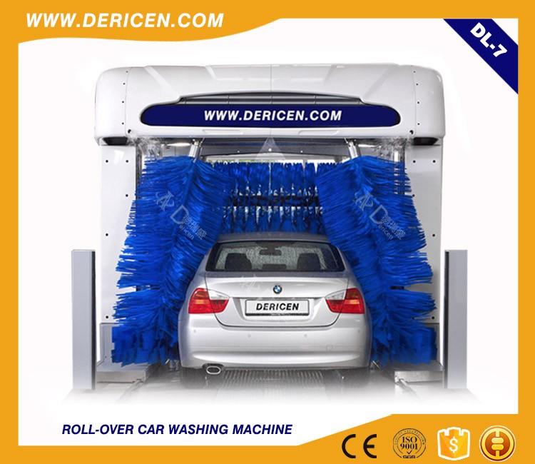 Smart Car Wash >> Dl7 Tunnel Smart Car Wash Machine Tunnel Fully Automatic View Smart Car Wash Machine Dericen Product Details From Dericen Automation Co Ltd On