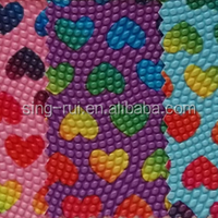 Pearlscale Pattern Printed PVC Leather With