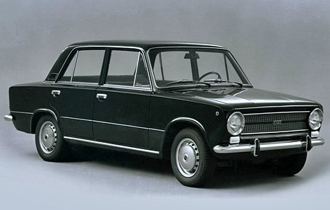 Russian used car VAZ 2101
