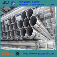 1-1/4 inch schedule 80 thick wall threaded galvanized steel pipe