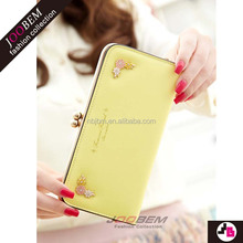 China New Design Popular mini personalized stylish ladies wallet