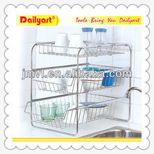 Household Basket kitchen storage shelf