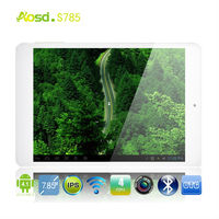 IPS Screen- children kids tablet pc mini pad resolution 1280*800 android 4.1 tablet 7.85inch Ram 1GB Rom 16GB