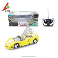 Kids gift funny toy 1:16 yellow luxury supercar rc car remote control car
