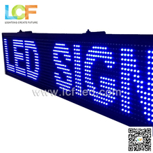 LED Script screen P5 P10 P12 P16 outdoor single/ double/ full color available led text led display