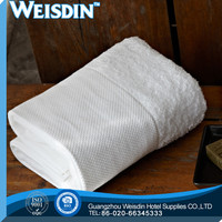 woven hot sale 100% organic cotton airline reservation hemmed flight towel