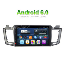 "KiriNavi WC-TR1053 10.2"" andriod 6.0 car dvd player for toyota rav4 cd player 2013 + SWC OBD2"
