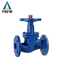 "Din standard class 900 manual penumatic operated bb os y 40"" bellow globe valve ss"