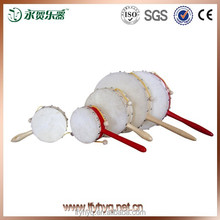 China traditional wooden baby rattle drum