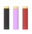 2018 new Products 1.5ml Square Pen Looking E cig 1000mAh Artery Lady Q Kit