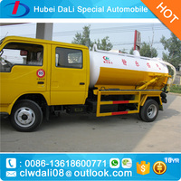 6 passenger mini sewer scavenger, vacuum sewage suction truck