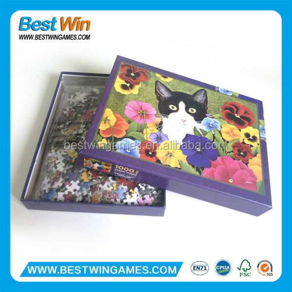 High quality custom made jigsaw puzzle 1000 buy adult for Custom 5000 piece puzzle
