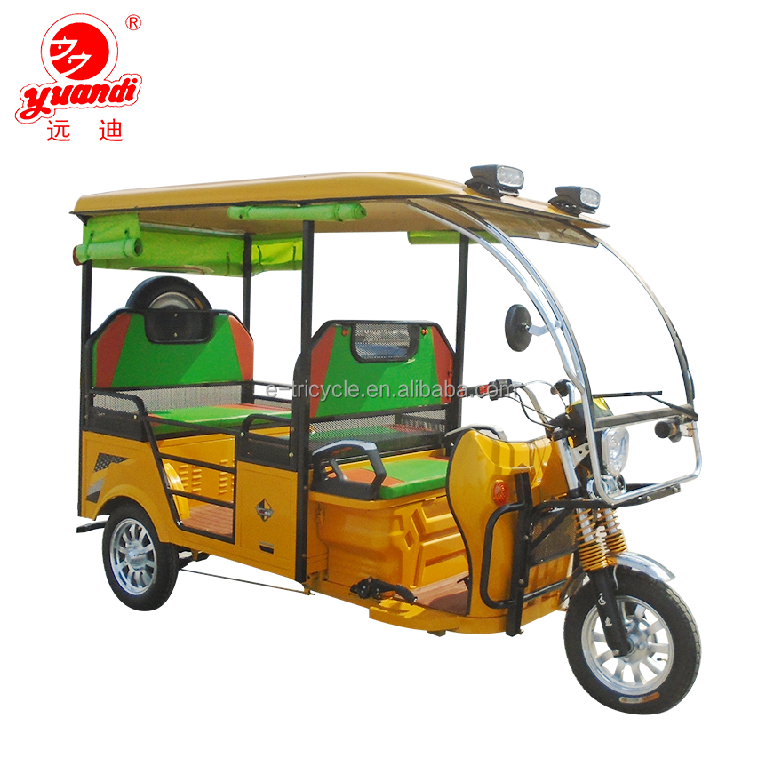 Hight Quality China Battery Operated Sightseeing Passenger Electric Tricycle for Sale