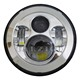 "2018 Wholesale moto Parts Motorcycle 7"" Round Led Headlight with Hi/Low Beam"