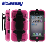 Dustproof defender cases for iphone5c