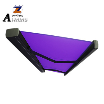 2018 unique model motorized retractable awning with LED waterproof