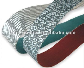 Gemstone polishing belts and sanding discs
