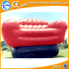 Giant inflatable sofa model for advertising, inflatable chesterfield sofa