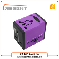 Regent World Travel USB Charger 2 Port 10W High Speed Desktop USB Charger/Wall Travel Power Adapter for smart phone