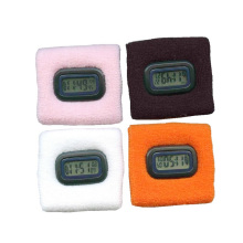 Custom Sweatband with electronic watch ,sweatband with low minimum order promotional bulk sweatband