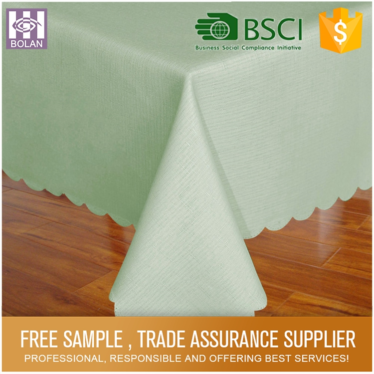 Elegant shape colorful and fabric painting designs table cloth