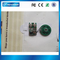Musical Voice Sound Audio Chip for GREETING CARDS DIY