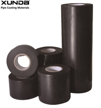 980 tape black color inner-layer tape for anti corrosion of steel pipe