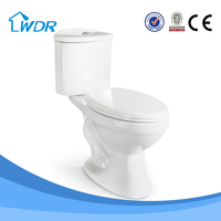 ceramic siphonic two piece wc spy toilet cam