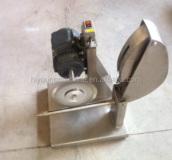 Chicken meat cutting cutter machine / poultry dividing cutting machine for sale