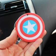 Hot selling printing paper car air freshener/various scent fragrance hanging auto air freshener for car