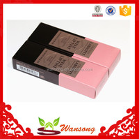 custom small lipstick box packaging, makeup cosmetic paper box with own design