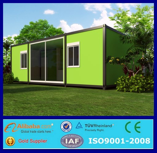 Underground ready made container houses prefabricated for for Prefabricated underground homes