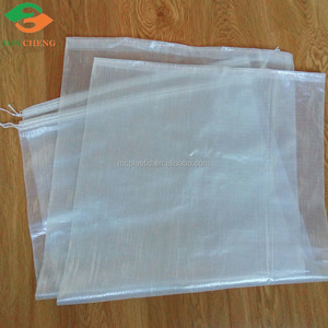 flexo printing clear pp woven bag poly woven bag packing fertilizer feed