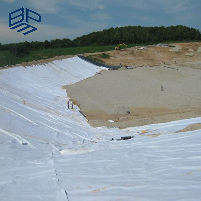 Geotech Fabric PET Nonwoven Fabric Geotextile for Road