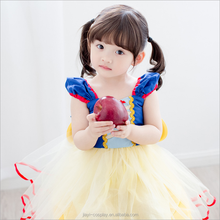 Christmas Kids Girl Princess Aurora Rapunzel Cinderella Snow White Cosplay Dress