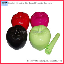 Promotional Eco-Friendly plastic apple shape bowl set