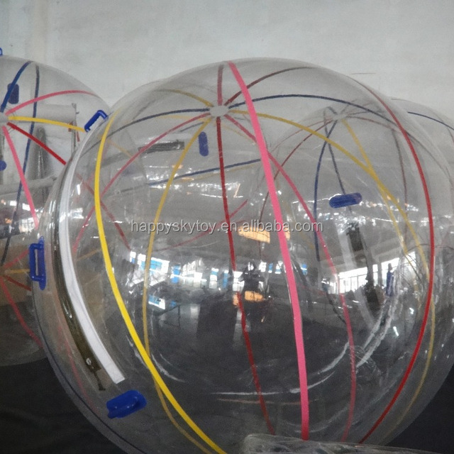 Good prices!!inflatable clear plastic water ball,water crystal ball,squeeze water ball
