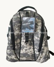 Laptop backpack camouflage