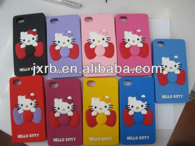 Fashional Design Mobilephone Case With Hello Kitty