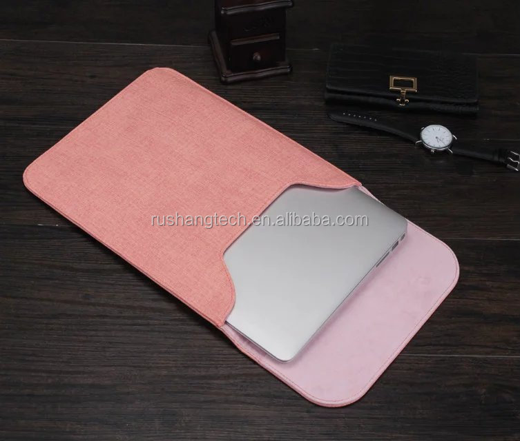 laptop leather sleeve for macbook 11.6 inch